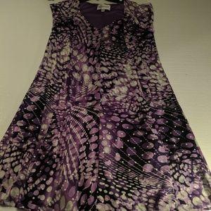 ROAMAN'S PURPLE PLUS DRESS 18W